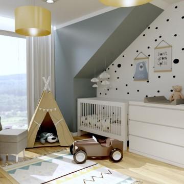 Projekt pokoju dziecka -...