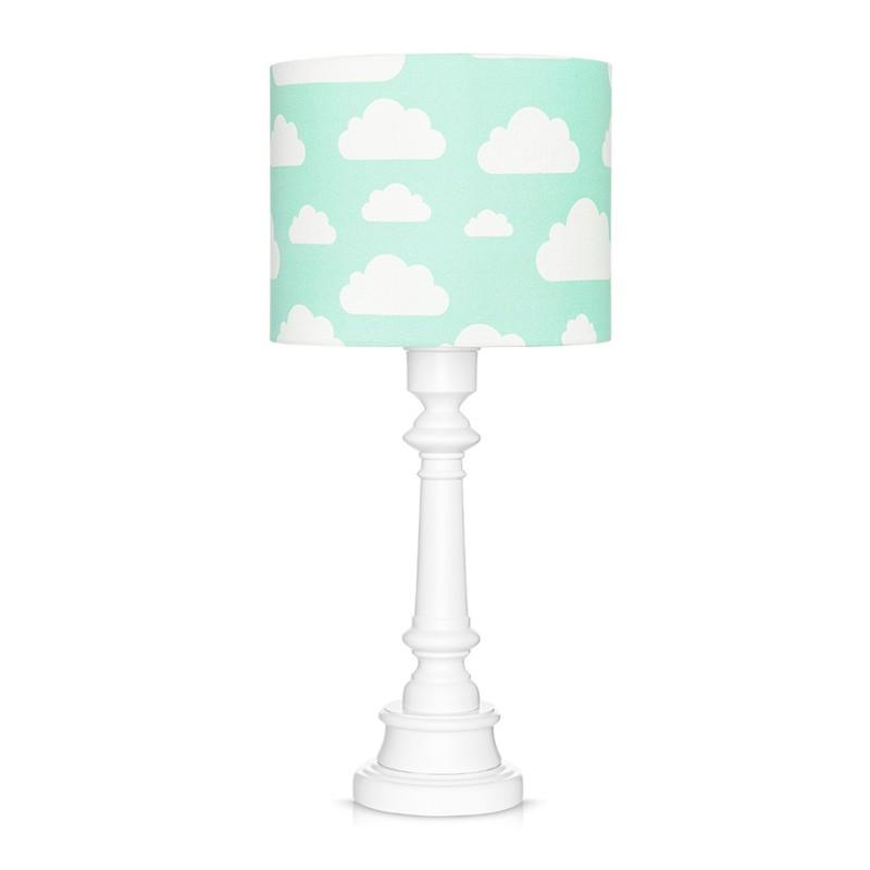 Lampa stojąca miętowa w...