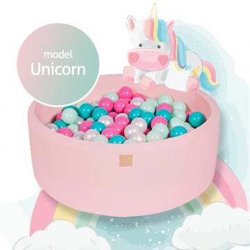 Jasnoróżowy Basen Unicorn...