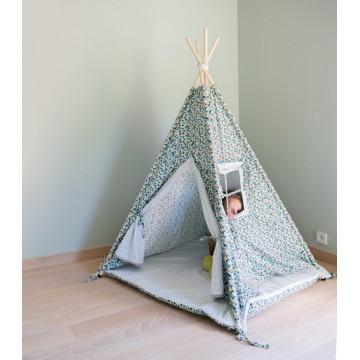 Kolorowy namiot Tipi dla...