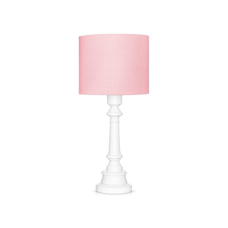 Lampa stojąca różowa -...