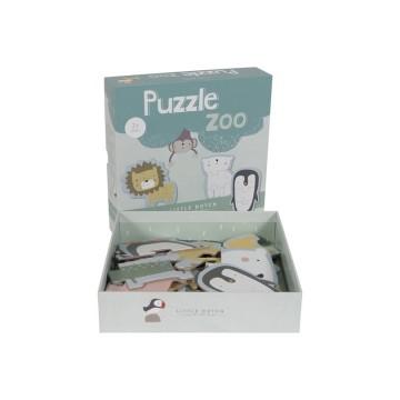 Little Dutch Puzzle Zoo - 6...