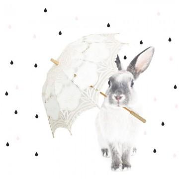Naklejka Harry w deszczu