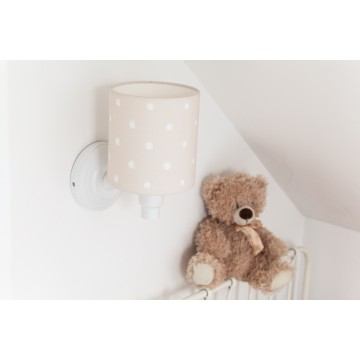 Kinkiet Lovely Dots Beige w...