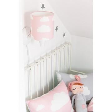 Kinkiet Chmurki Pink -...