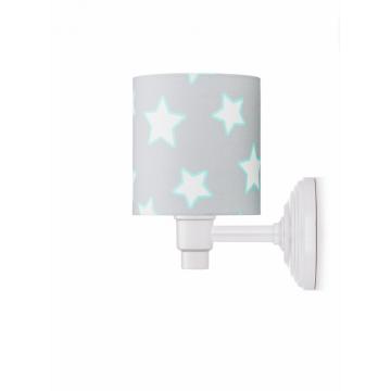 Kinkiet Grey Stars - Lamps...