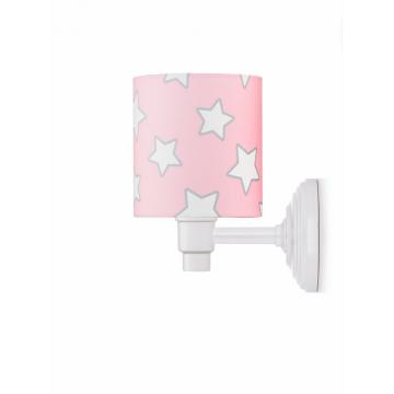Kinkiet Pink Stars - Lamps...