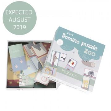 Domino puzzle Zoo Little Dutch