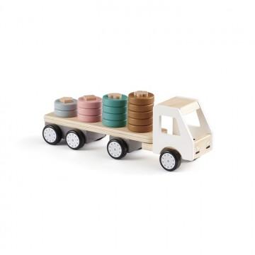Drewniany sorter ciężarówka...