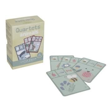 Gra w karty kwartetu -...