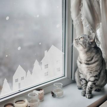 Naklejka na okno i ścianę...