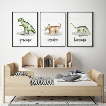 Plakat na ścianę Brontozaur