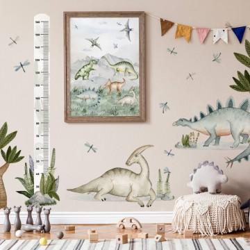 Plakat na ścianę Dinozaury 2