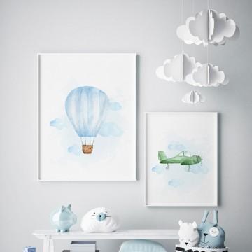 Plakat na ścianę Balon