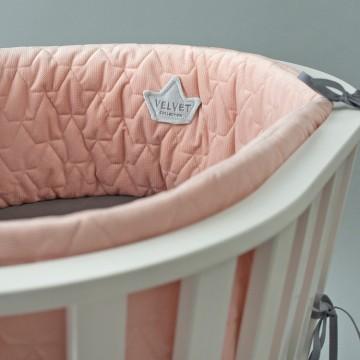 Ochraniacz Velvet Powder Pink
