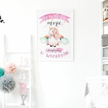 Plakat na ścianę Magia