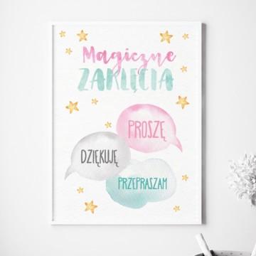 Plakat na ścianę Magiczne...
