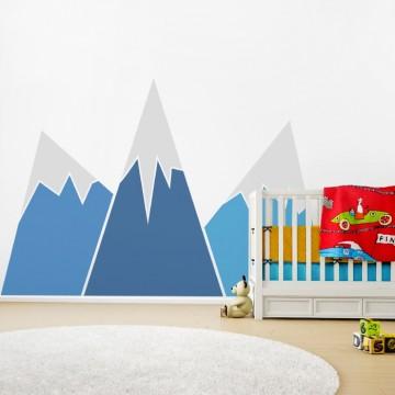 Naklejka na ścianę - Duże Góry