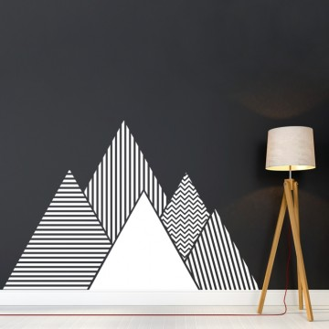 Naklejka na ścianę - Góry