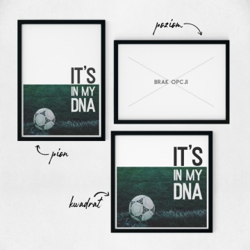 Plakat na ścianę It's my DNA