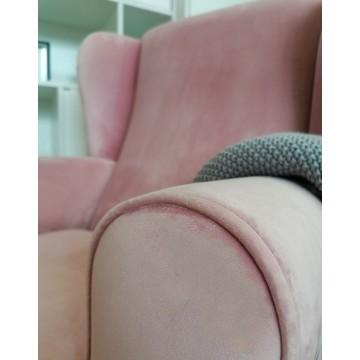 Fotel do karmienia różowy...