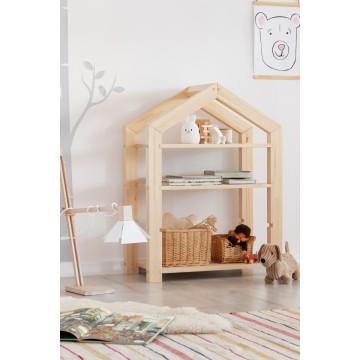 Regał dziecięcy domek 40x60 cm