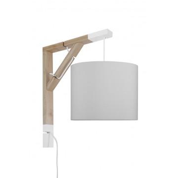 Lampa Simple czysta szarość...