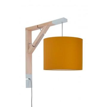 Lampa Simple musztardowa...