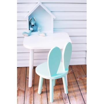 Drewniane krzesełko królik...