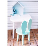 Drewniane krzesełko królik