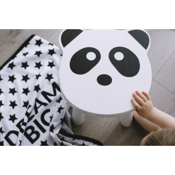Taboret Panda dla dzieci