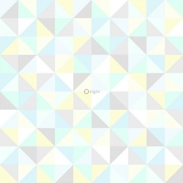 Tapeta pastelowe trójkąty...