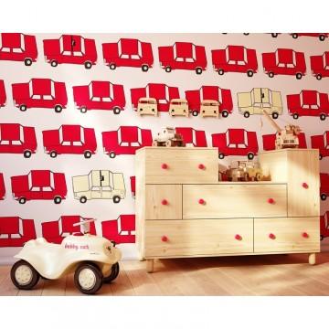 Tapeta czerwone autka Cars...