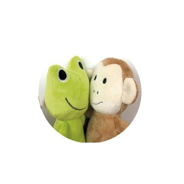 Przytulanka szalona małpka...
