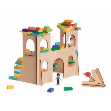 Zamek z katapultą- zestaw...