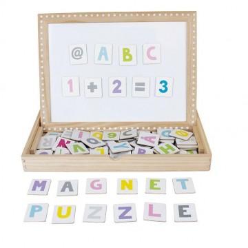 Magnetyczny alfabet...