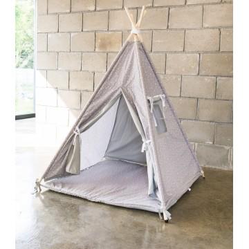 Szary namiot Tipi w...