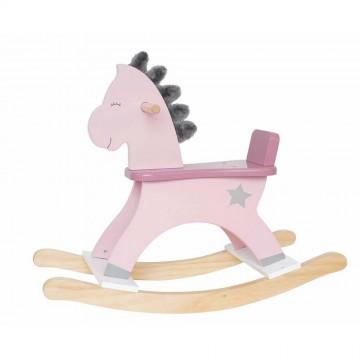 Koń na biegunach pastelowy...