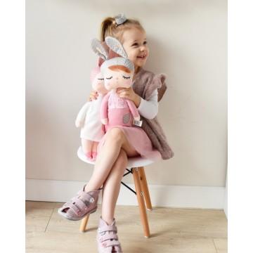 Lalka Metoo w różowej sukience