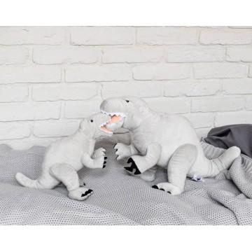 Pluszowy Dinozaur Szary