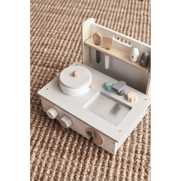 Drewniana mini kuchnia dla...