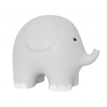 Duża skarbonka szary słoń,...