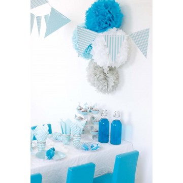 Balony jasnoniebieskie