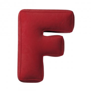 Poduszka literka F