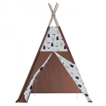 Namiot Tipi Brązowy w stylu...