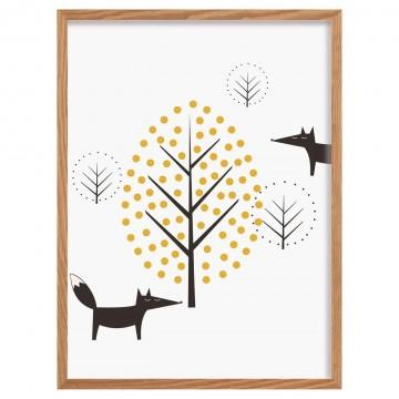 Obrazek Scandi Forest fox...