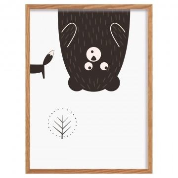 Obrazek Scandi Forest bear...