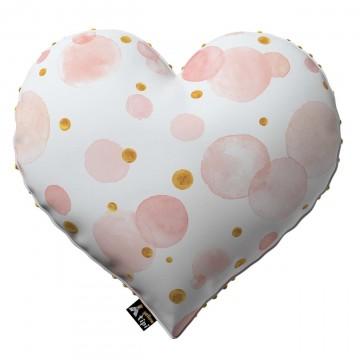 Poduszka Heart of Love z minky