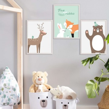 Obrazek Forest Friends bear...