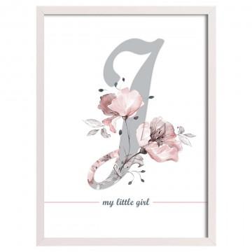 Obrazek Rose Lagoon Letter...